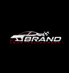 Sport car logo vector