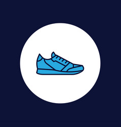 sport shoes icon sign symbol vector image