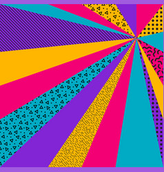 textured colorful retro background vector image