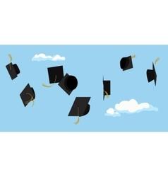 Graduation ceremony Student celebration vector image