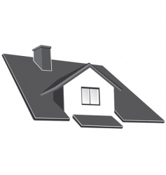 house roof vector image vector image