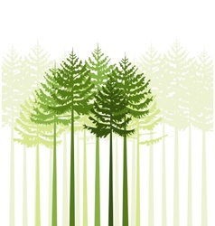 trees 21 vector image