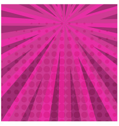 abstract bright pink square retro comic background vector image