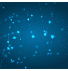 Abstract technology network concept vector image