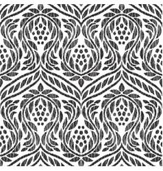 Baroque seamless pattern vector