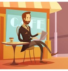 Businessman Working vector