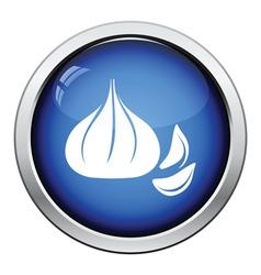 Garlic icon vector