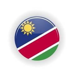 Namibia icon circle vector image