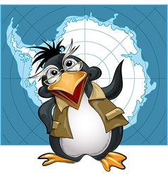 Penguin lecturer vector