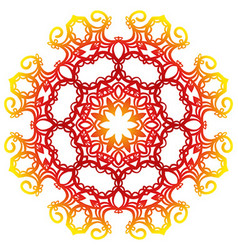 round orament vector image