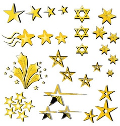 Star Collection icon vector image vector image