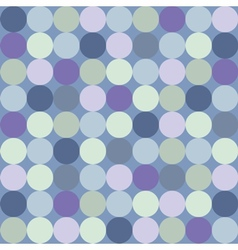 Seamless pattern or background with big blue dots vector image vector image