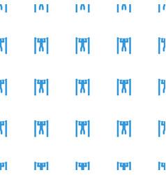 Bar tightening icon pattern seamless white vector