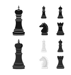 checkmate and thin symbol vector image