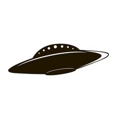 Flying saucer vector