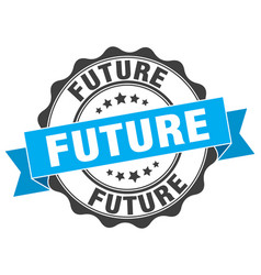 Future stamp sign seal vector