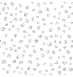 Gray and white spiral pattern seamless vector