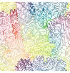 Seamless pattern abstract background with colorful vector