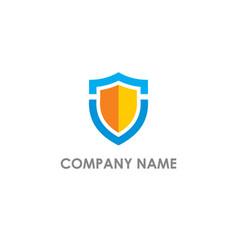 Shield safe protection logo vector