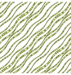 seamless pattern of wavy lines vector image
