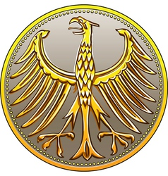 german money vector image vector image