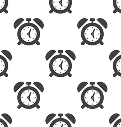 alarm clock seamless pattern vector image
