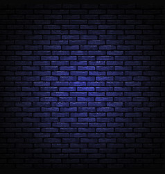 black brick wall texture realistic decorative vector image