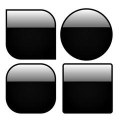 black peebles vector image