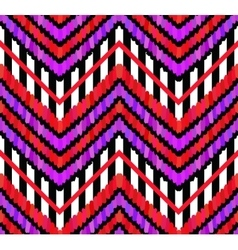 Brush Strokes and Stripes Pattern vector