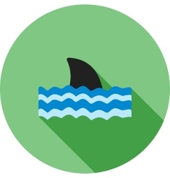 Dangerous Shark vector