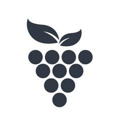 Grape fruit fresh symbol image vector
