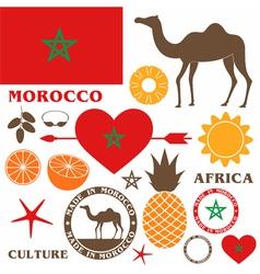 Morocco Camel vector image