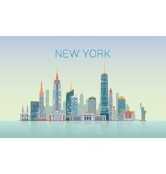 New York skyline vector