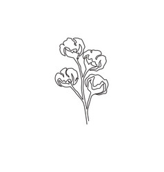 one continuous line drawing whole soft vector image