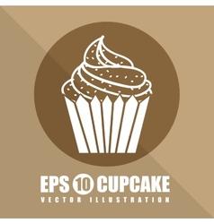 Pastry icon vector