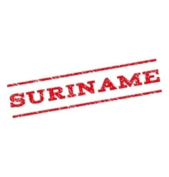 Suriname Watermark Stamp vector