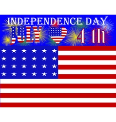 US Independence Day vector