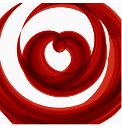 red heart shape wedding background vector image