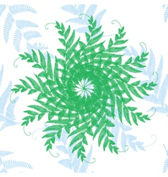 branches and leaves star vector image
