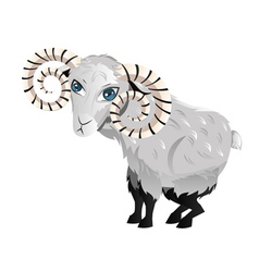 Cartoon Ram vector