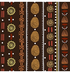 Folk pattern vector