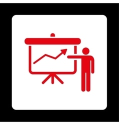 Project Presentation Icon vector
