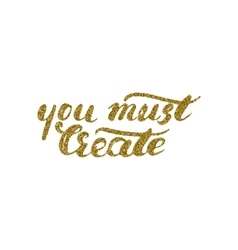 You must create card - handdrawn ink brush pen vector