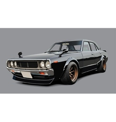 Classic Japanese Sportscar vector image vector image
