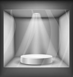 Showcase vector image vector image