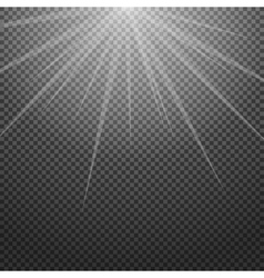 Shiny sunburst of sunbeams on the abstract vector image vector image