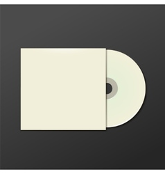 Realistic DVD Or CD Disk vector image