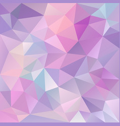 Abstract irregular polygon background purple vector