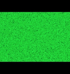 Artistic grass field top view background vector