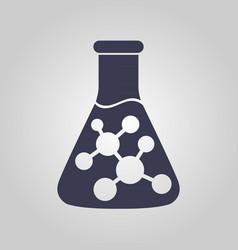 chemistry logo vector image